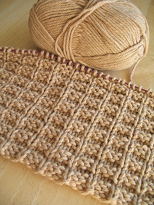 Double Bump Dishcloth - Free Pattern