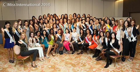 Orientation (AM) and Welcome Party in the Evening - Miss International 2014