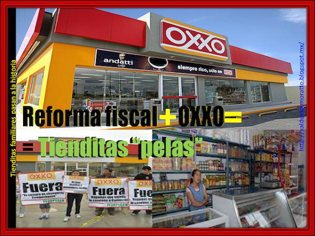 Tiendas de barrio y de pueblo en peligro de extinción por Oxxos