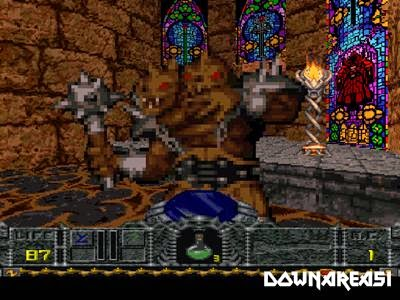 Hexen Beyond Hereteic PSX Game Version Screenshot Hexen Beyond Heretic PS1 ISO