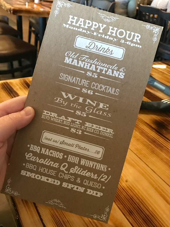 Blind Box BBQ in Shawnee, KS Happy Hour Specials