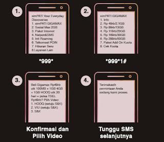 Cara Menggunakan Kuota Paket Entertainment Telkomsel