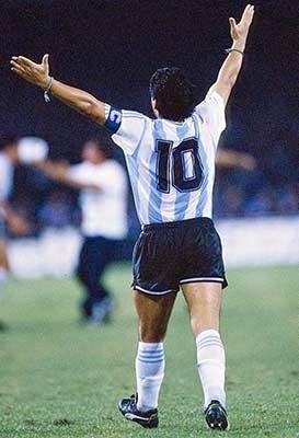 Maradona dan Nomor 10