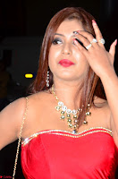Sejal Jen Shah in Strapless Sleeveless Deep neck Red Gown at 64th Jio Filmfare Awards South ~  Exclusive 009.JPG