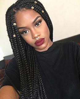 Aquí las mejores imágenes de Trenzas Africanas con pelo suelto para mujeres  2017,como fuente de inspiración
