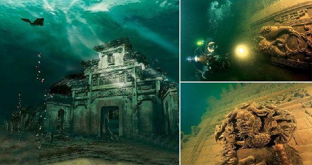 ১৩০০ বছর আগের চীনের রাজধানী এখন পানির নিচে