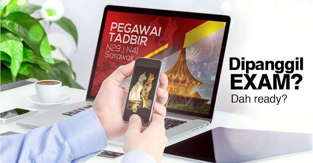Rujukan Peperiksaan Pegawai Tadbir N29 & N41 Sarawak