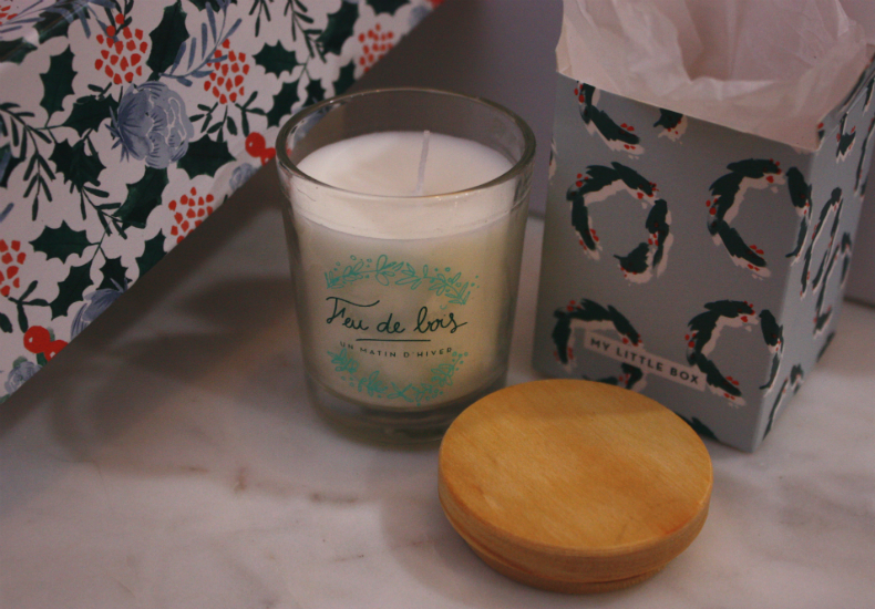 My Little Box December Christmas Edition Candle