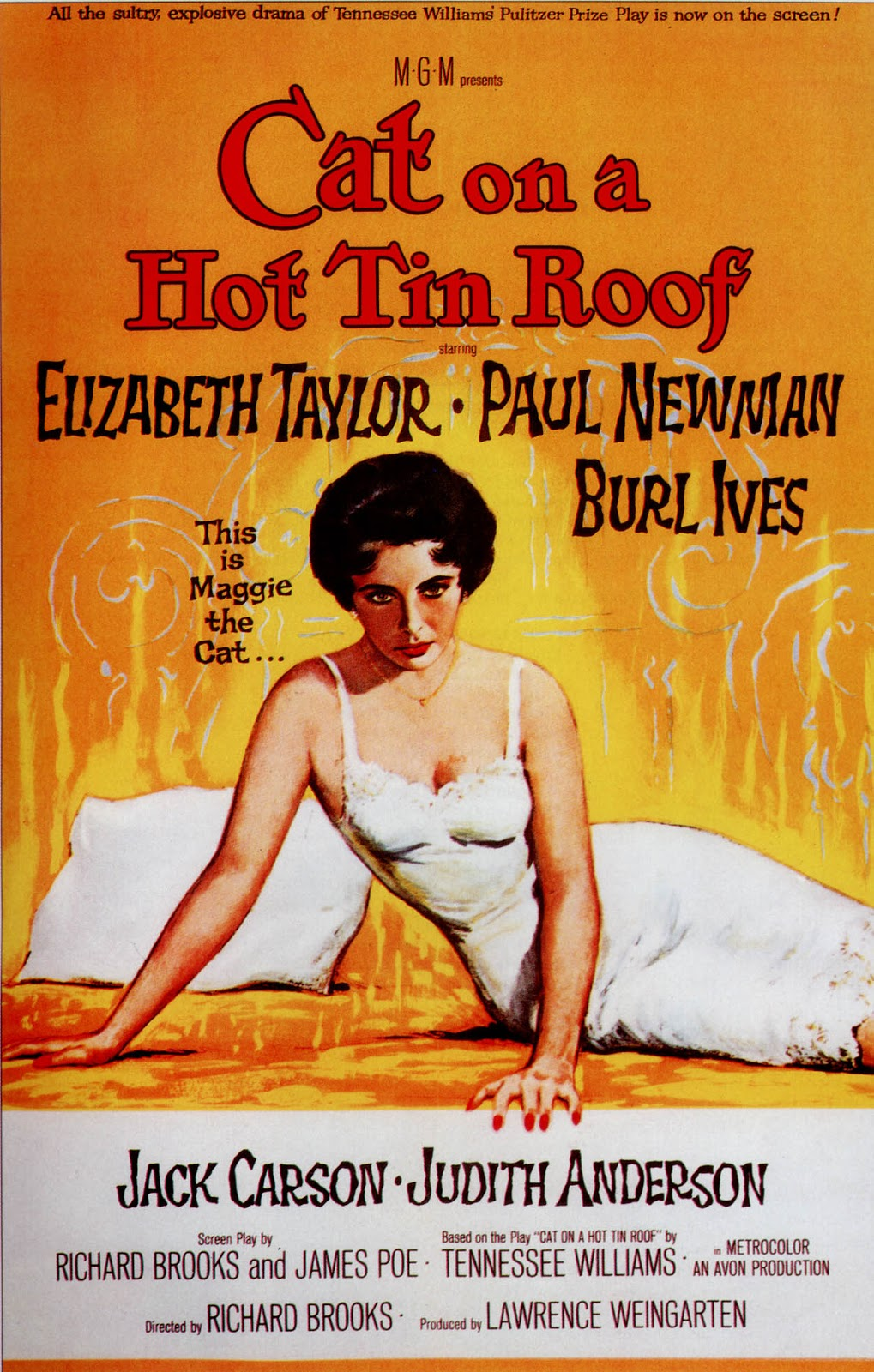 1001 Classic Movies: Cat On A Hot Tin Roof