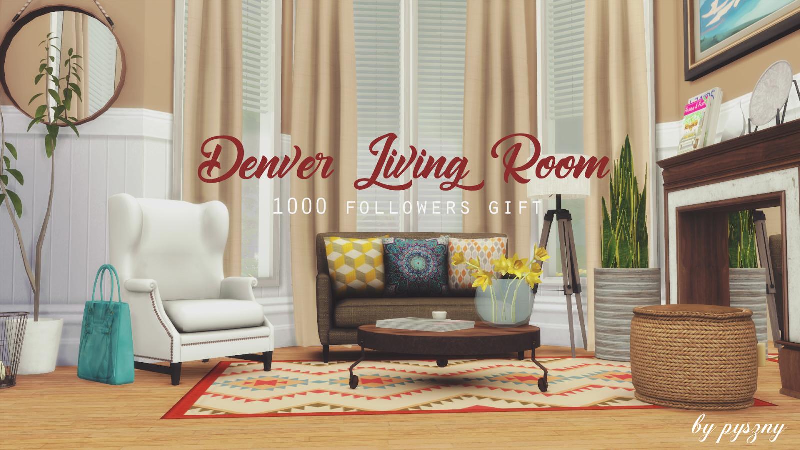 Denver Living Room - 1000 Followers on Tumblr Gift