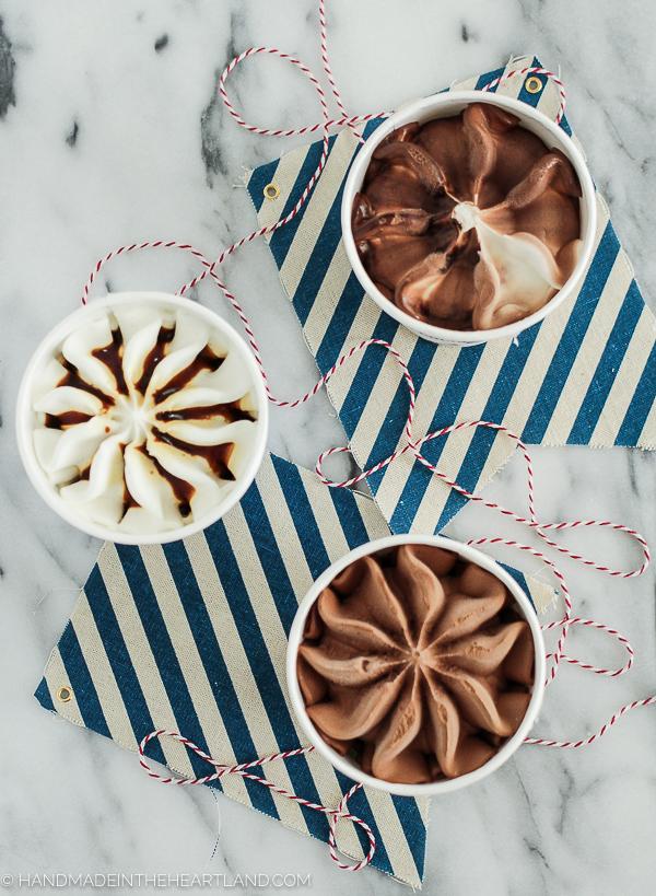 Fruit, Granola & Ice Cream Parfait Bar Recipe