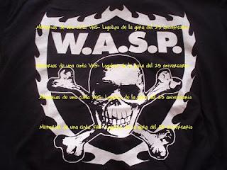 logo de W.A.S.P. 25 aniversario