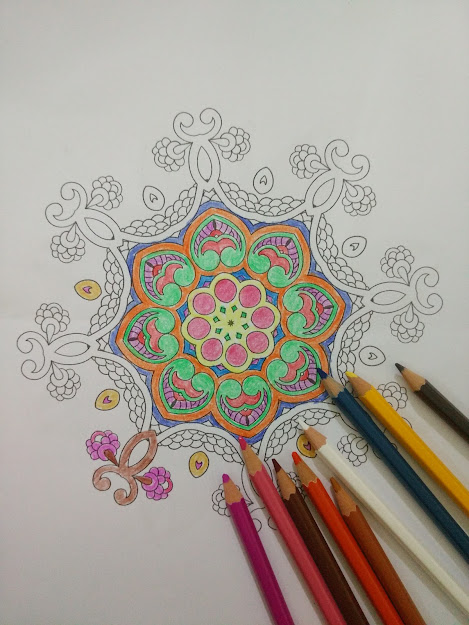 How To Draw Mandala With Coloring Pages Spiritual