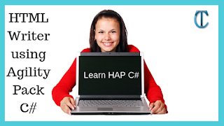 Learn HAP: HTML Writer using Agility Pack C#
