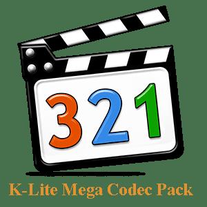 برنامج الكوديك لايت K-Lite Mega