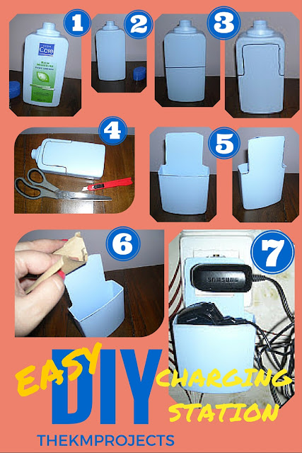 EASY DIY PHONE CHARGING STATION