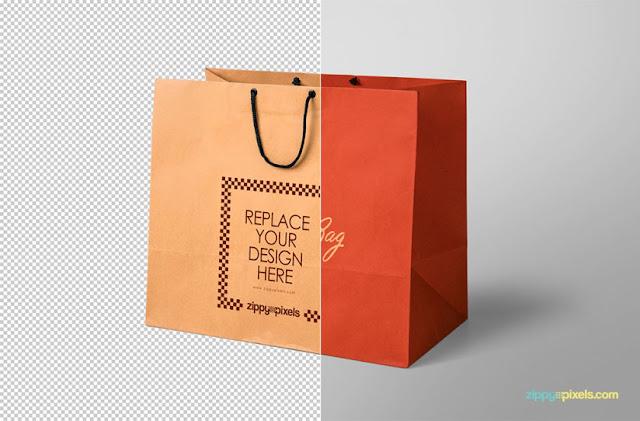Appealing Shopping Bag Mockup