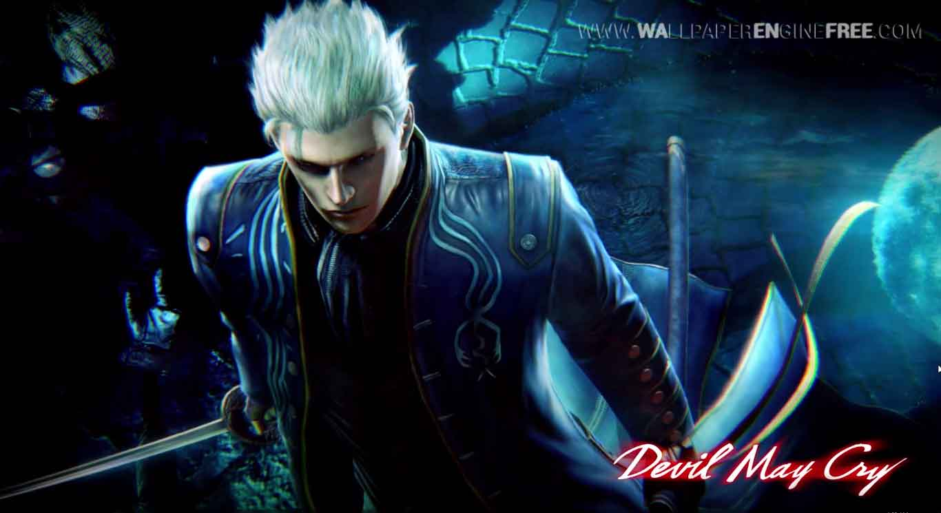 devil may cry mk2 vergil wallpaper engine free free