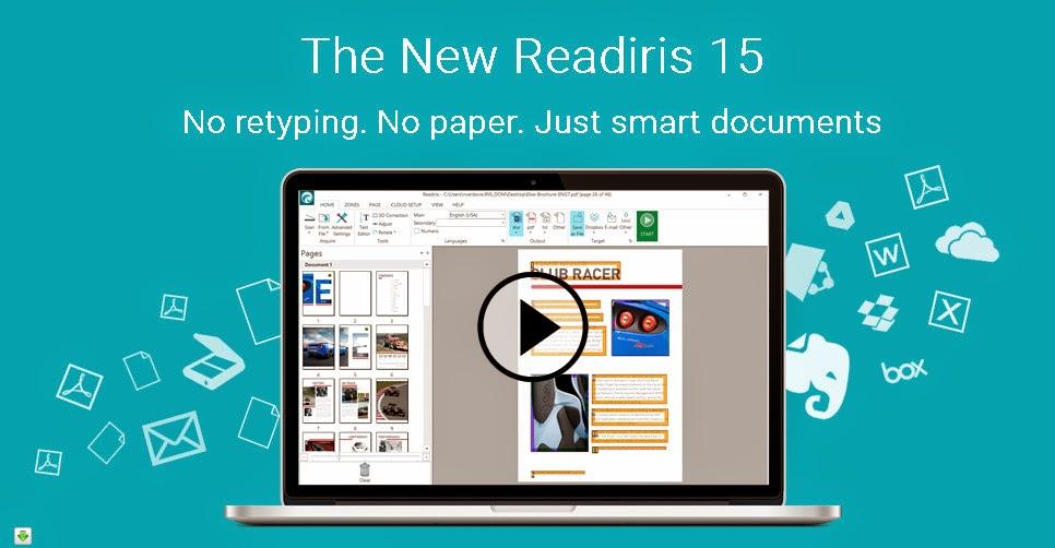 Readiris 15, Programa OCR y conversor de documentos (trial