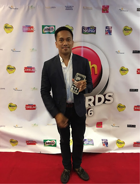 Rod Magaru as 2016 Push Awards Most Popular Entertainment Blogger