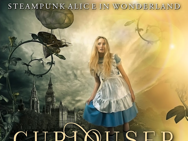 Curiouser and Curiouser: Steampunk Alice in Wonderland Now Available!