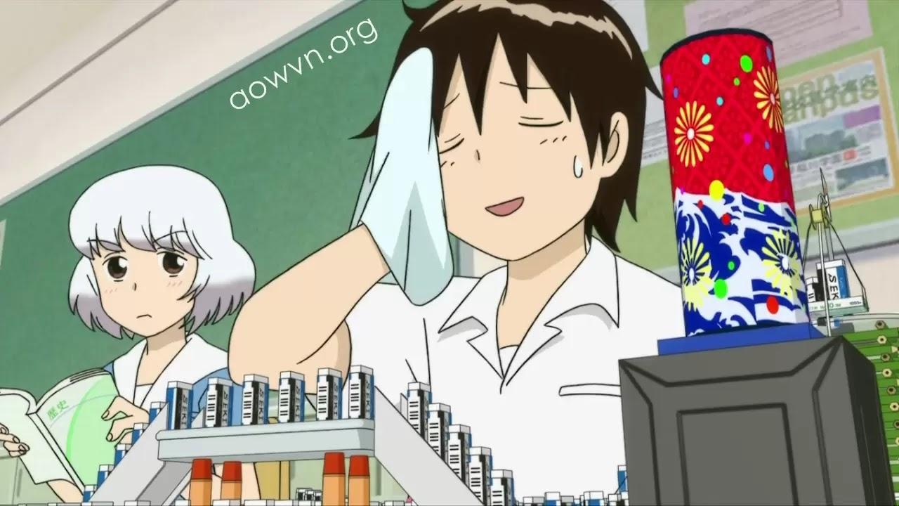 tonari aowvn3 - [ Anime 3gp Mp4 ] Tonari no Seki-kun + OVA | Vietsub - Thánh Quậy Max Hài