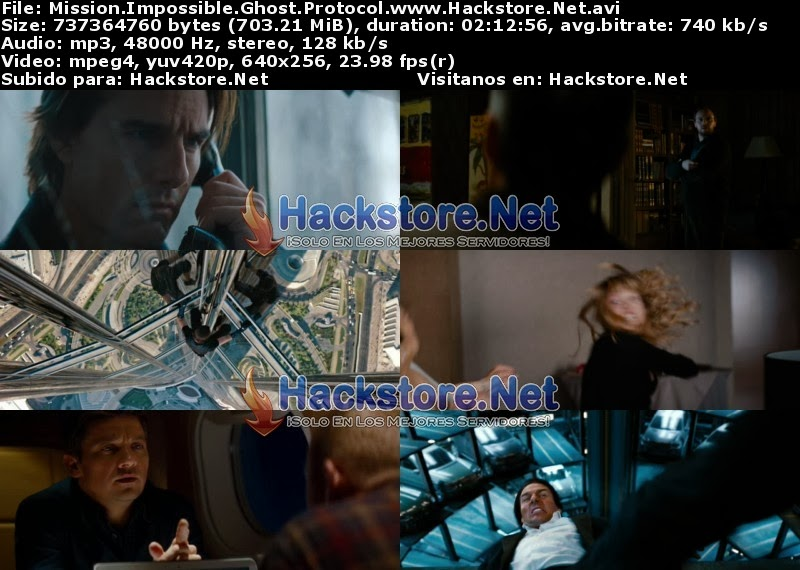 Captura Mision Imposible 4 (2011) DVDRip Latino