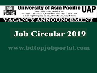 UAP Job Circular 2019