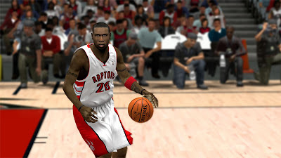 NBA 2K13 Mickael Pietrus Raptors Face Update