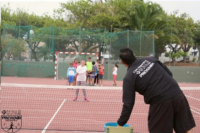 actividades extraescolares tenis arucas