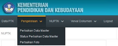 perbaikan data master nuptk