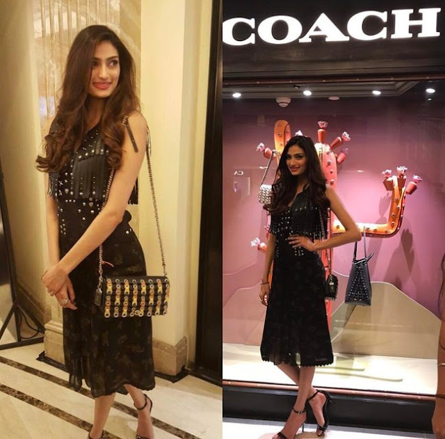 Athiya Shetty At Launch Event Of COACH Store at New Delhi