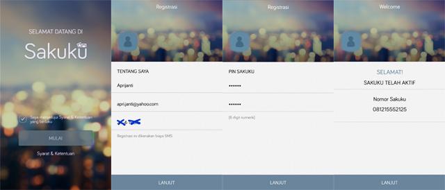 registrasi, aplikasi, sakuku, bca