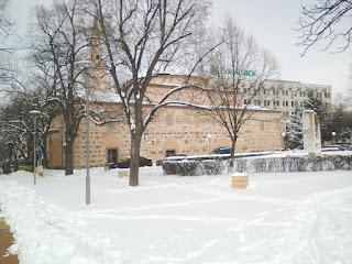 Yambol, Mosque, Snow