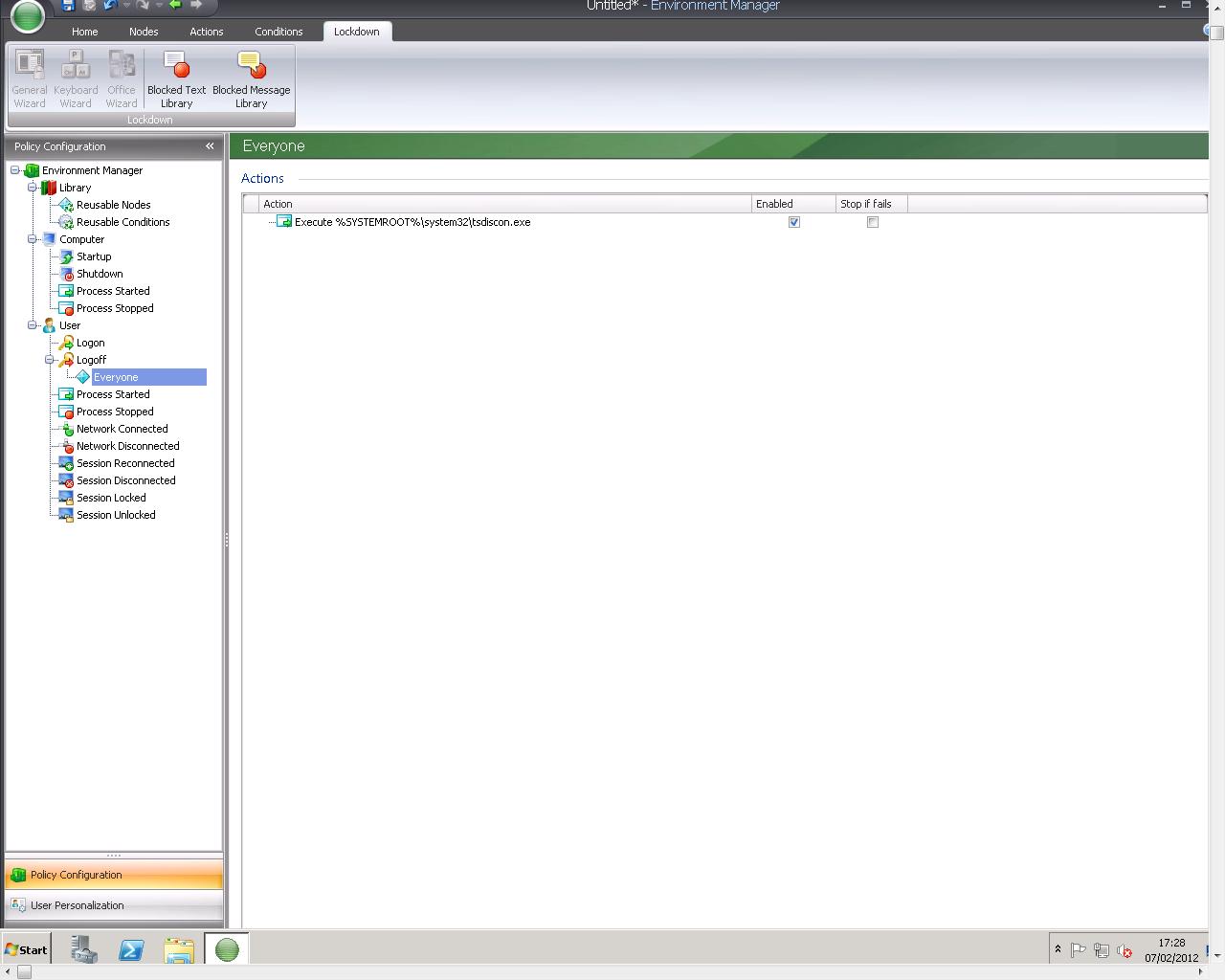 Speeding up your XenApp/Remote Desktop Services logoff time