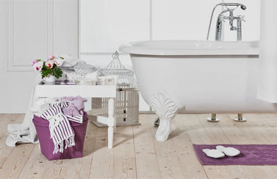 bañera de patas