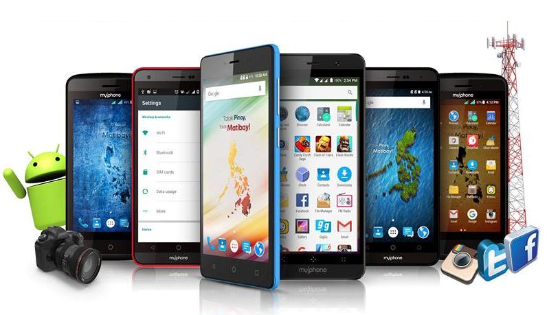 MyPhone DTV Smartphones