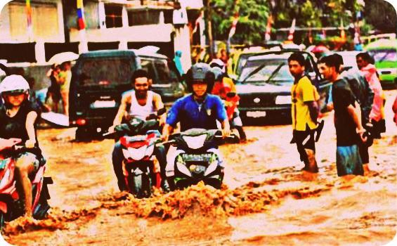 Hujan Sehari, Pusat Kota Ambon Terendam Banjir