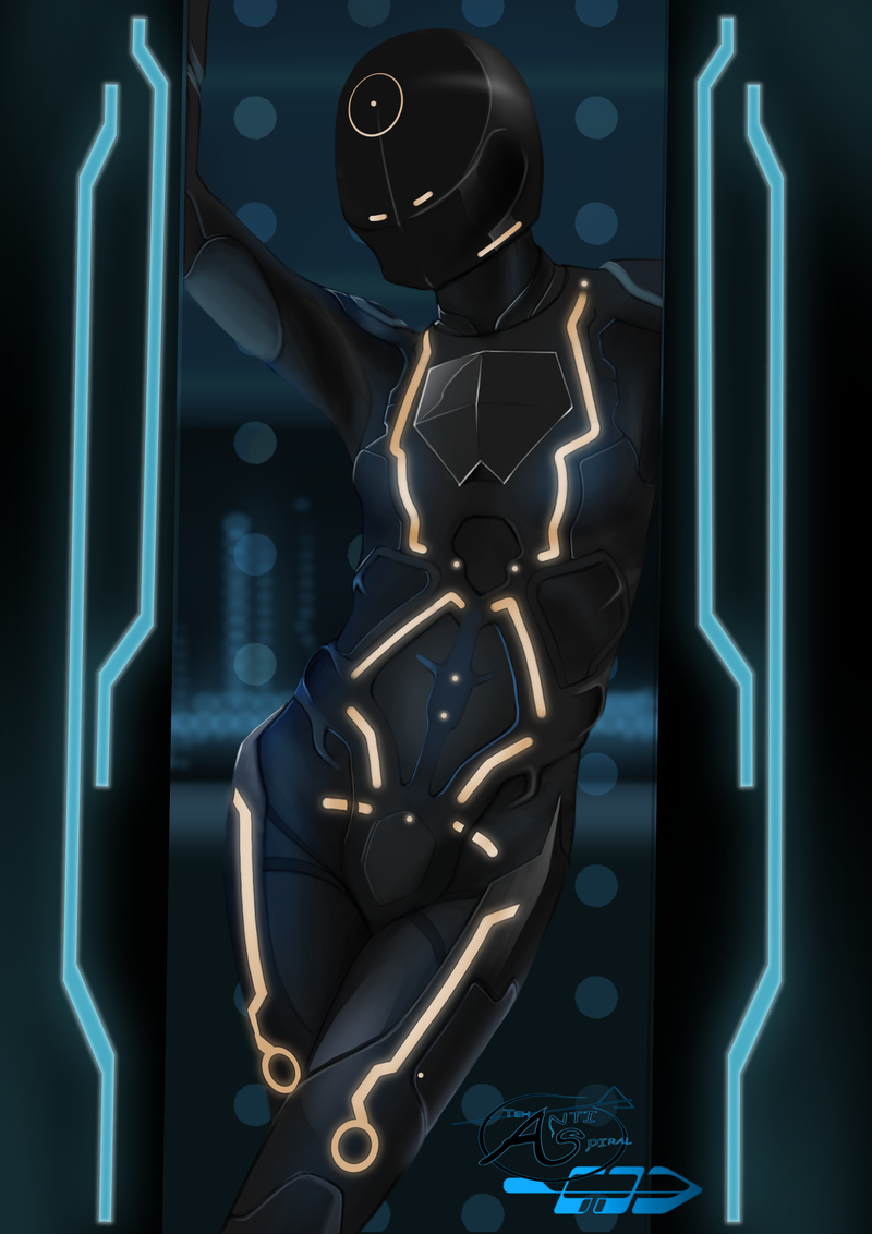 Tron Tattoo Reference