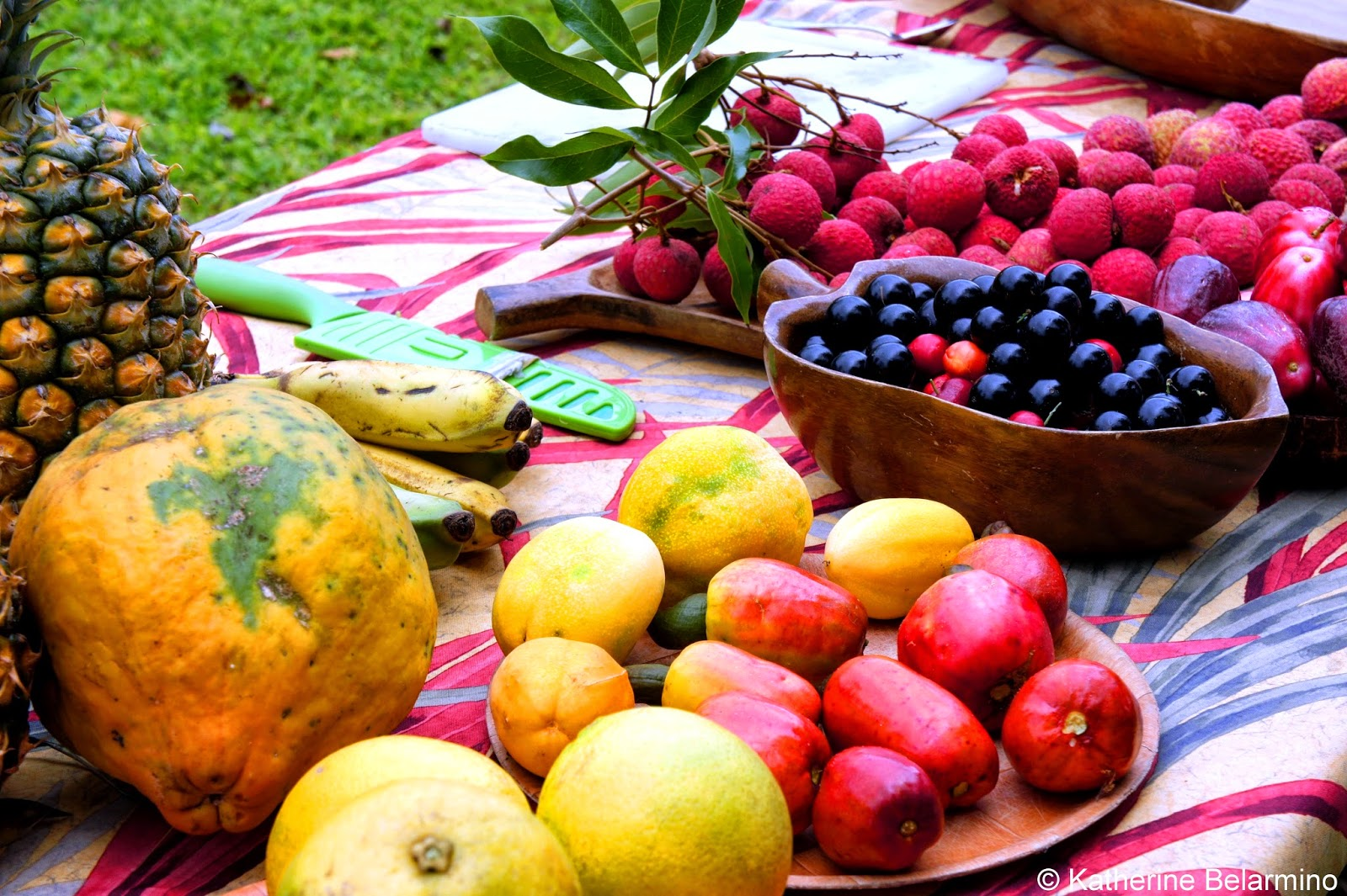 Tasting Kauai's Tropical Fruits And Island Cuisine On A