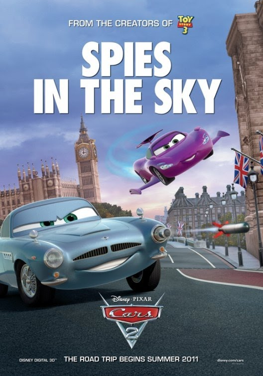 cars 2 new movie posters teaser trailer