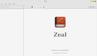 Tampilan Aplikasi Zeal
