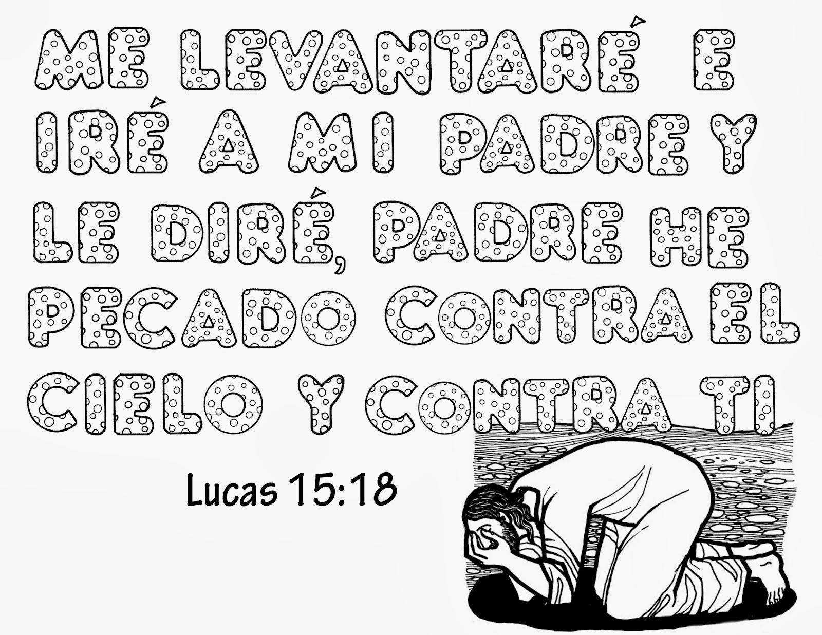 Lujoso Páginas Para Colorear Con Versículos De La Biblia Viñeta ...