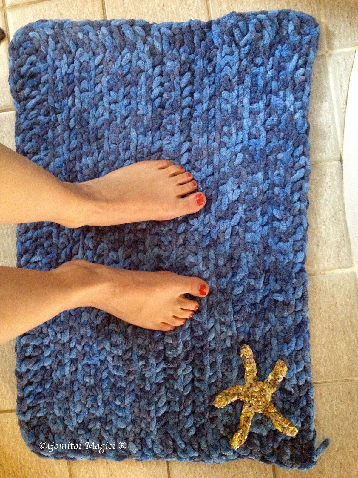 Tappeto Rettangolare In Fettuccia A Crochet Per Schemi Tappeti
