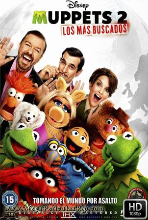 Muppets 2: Los Mas Buscados [1080p] [Latino-Ingles] [MEGA]
