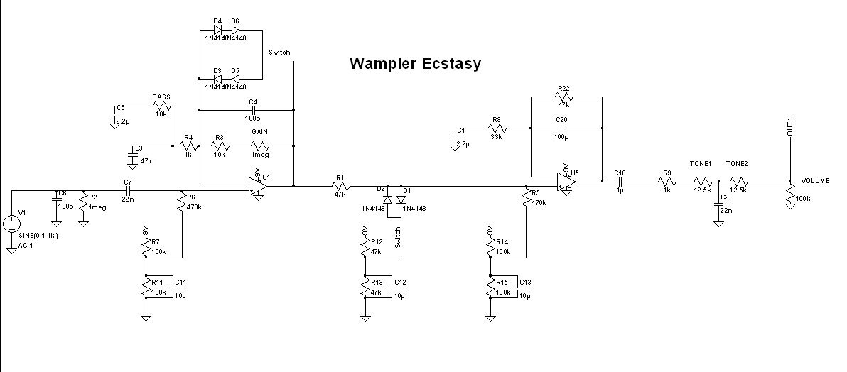 StompBoXed - The Guitar Pedal Builders Repository: Wampler Ecstasy