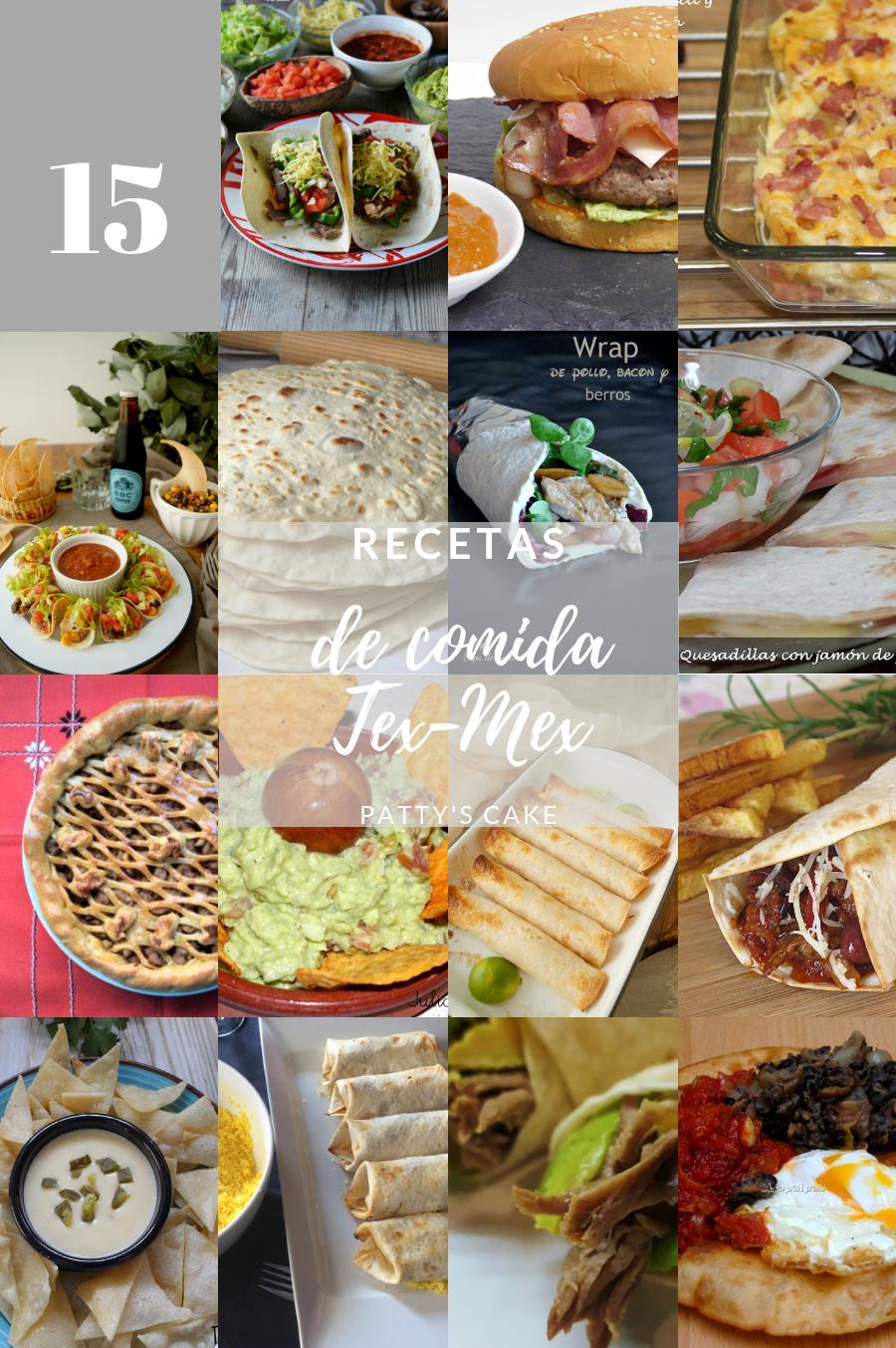 15 recetas de comida tex-mex