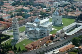หอเอนเมืองปิซา (Leaning Tower of Pisa)