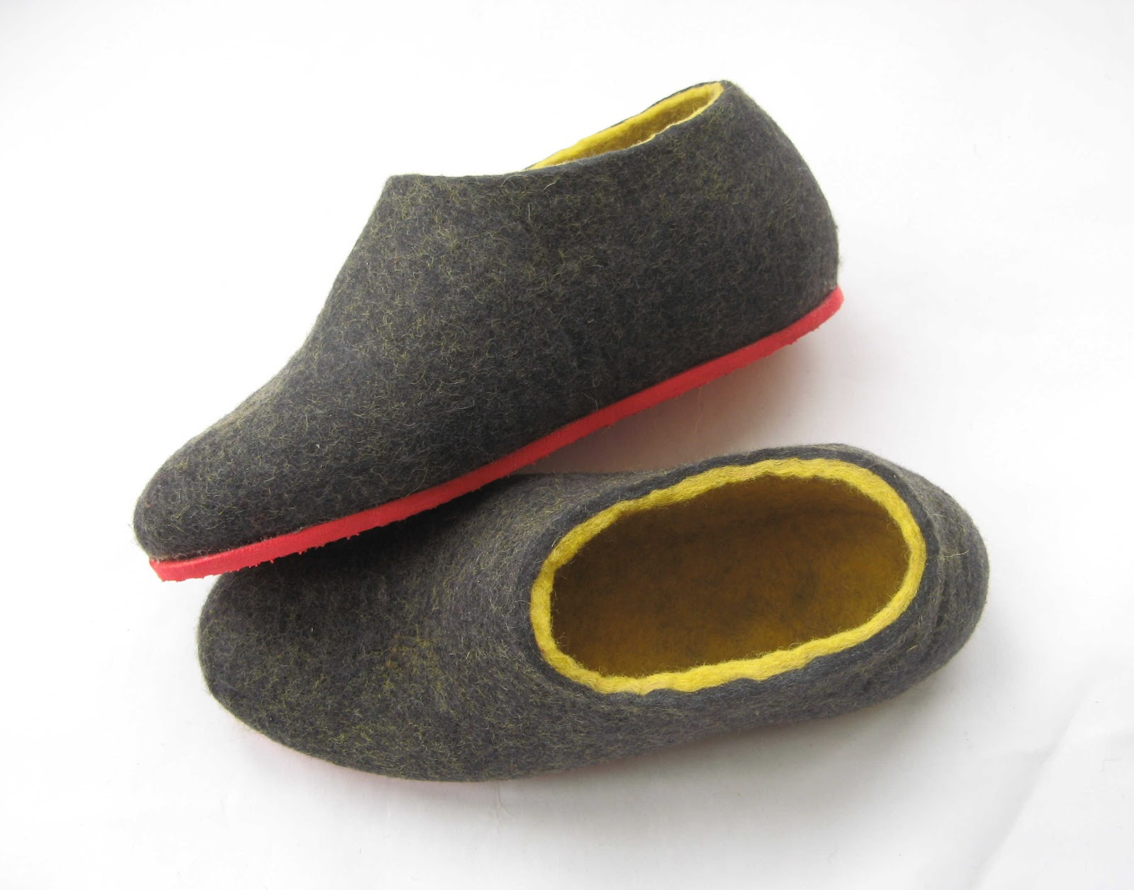 Felted Wool Slippers Wool Boots Cat Beds Ready For The