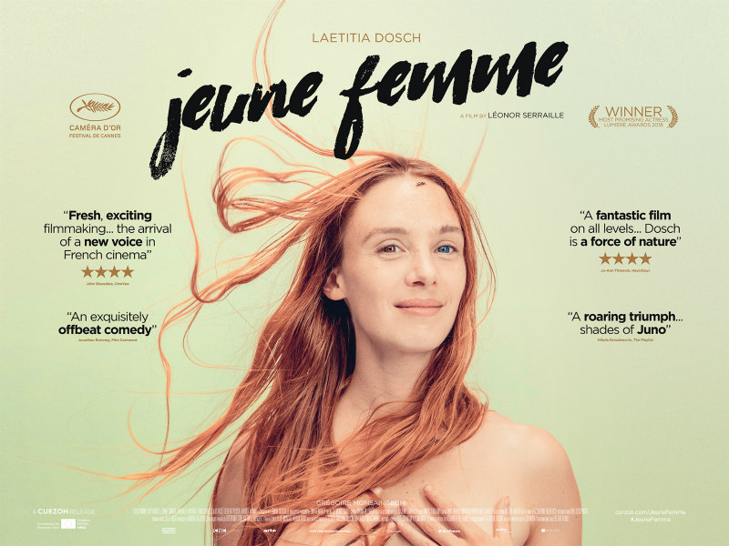 jeune femme movie uk poster